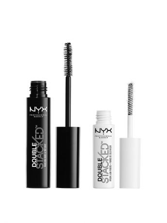 Туши NYX PROFESSIONAL MAKEUP Тушь для ресниц DOUBLE STACKED MASCARA 01