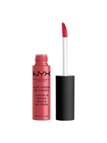 Помады NYX PROFESSIONAL MAKEUP Матовая жидкая помада-крем SOFT MATTE LIP CREAM - ADDIS ABABA 07