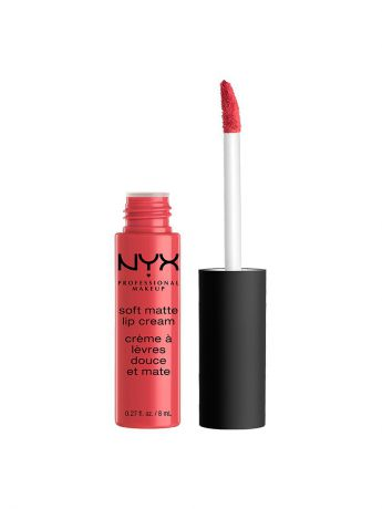 Помады NYX PROFESSIONAL MAKEUP Матовая жидкая помада-крем SOFT MATTE LIP CREAM - IBIZA 17