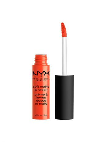 Помады NYX PROFESSIONAL MAKEUP Матовая жидкая помада-крем SOFT MATTE LIP CREAM - SAN JUAN 28