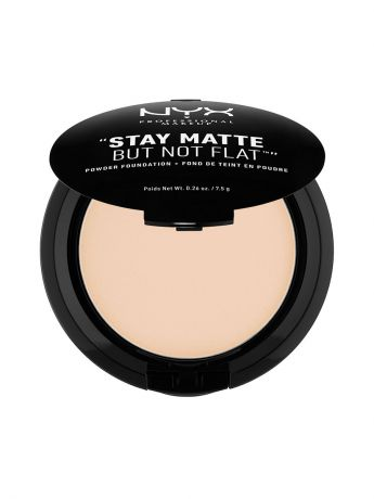 Пудры NYX PROFESSIONAL MAKEUP Тональная основа-пудра STAY MATTE BUT NOT FLAT POWDER FOUNDATION - IVORY 01