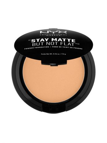 Пудры NYX PROFESSIONAL MAKEUP Тональная основа-пудра STAY MATTE BUT NOT FLAT POWDER FOUNDATION - SOFT BEIGE 05