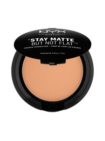 Пудры NYX PROFESSIONAL MAKEUP Тональная основа-пудра STAY MATTE BUT NOT FLAT POWDER FOUNDATION - TAWNY 12