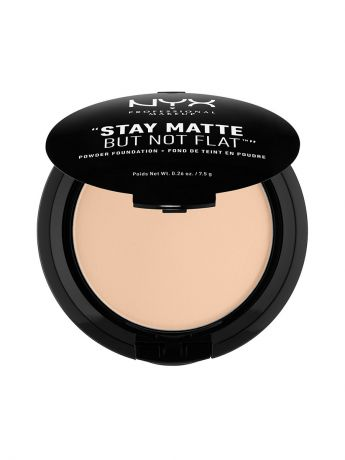 Пудры NYX PROFESSIONAL MAKEUP Тональная основа-пудра STAY MATTE BUT NOT FLAT POWDER FOUNDATION - NUDE BEIGE 017