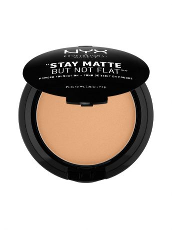 Пудры NYX PROFESSIONAL MAKEUP Тональная основа-пудра STAY MATTE BUT NOT FLAT POWDER FOUNDATION - CARAMEL 10