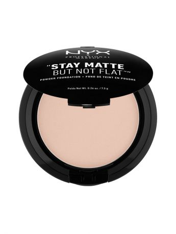 Пудры NYX PROFESSIONAL MAKEUP Тональная основа-пудра STAY MATTE BUT NOT FLAT POWDER FOUNDATION - CREAMY NATURAL 04