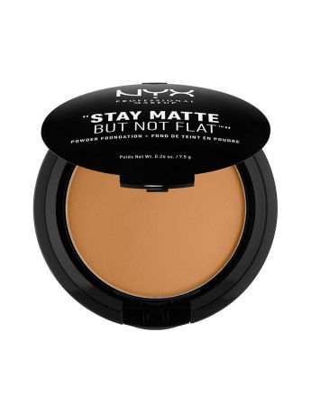 Пудры NYX PROFESSIONAL MAKEUP Тональная основа-пудра STAY MATTE BUT NOT FLAT POWDER FOUNDATION - DEEP GOLD 183