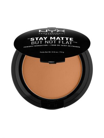 Пудры NYX PROFESSIONAL MAKEUP Тональная основа-пудра STAY MATTE BUT NOT FLAT POWDER FOUNDATION - DEEP OLIVE 185