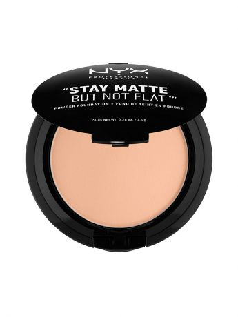 Пудры NYX PROFESSIONAL MAKEUP Тональная основа-пудра STAY MATTE NOT FLAT POWDER FOUNDATION - SOFT SAND 045