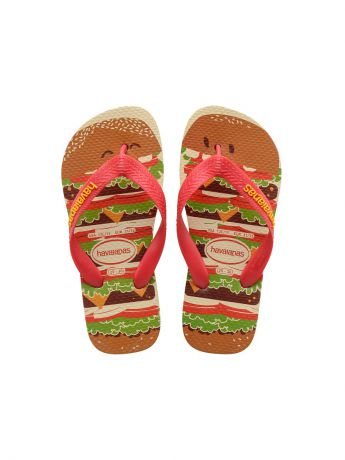 Шлепанцы Havaianas Шлепанцы HAVAIANAS KIDS TOP FAST FOOD