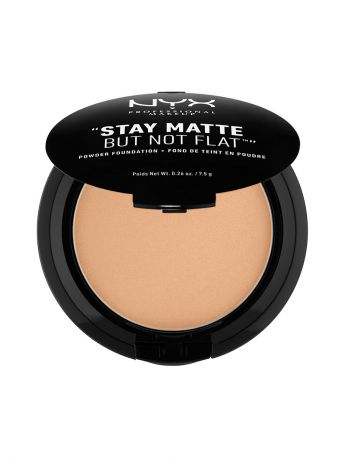Пудры NYX PROFESSIONAL MAKEUP Тональная основа-пудра STAY MATTE BUT NOT FLAT POWDER FOUNDATION - TAN 09