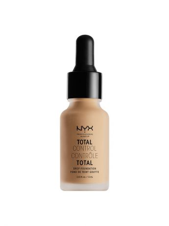 Тональные кремы NYX PROFESSIONAL MAKEUP Стойкая тональная основа TOTAL CONTROL DROP FOUNDATION - MEDIUM OLIVE 09
