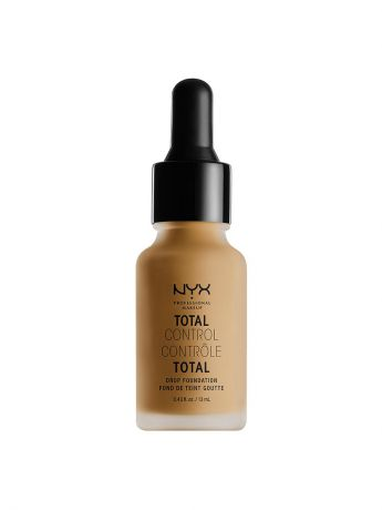 Тональные кремы NYX PROFESSIONAL MAKEUP Стойкая тональная основа TOTAL CONTROL DROP FOUNDATION - CARAMEL 15