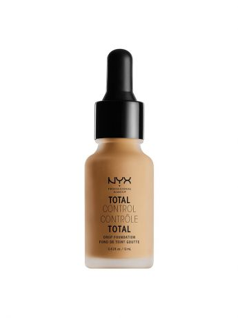 Тональные кремы NYX PROFESSIONAL MAKEUP Стойкая тональная основа TOTAL CONTROL DROP FOUNDATION - GOLDEN 13