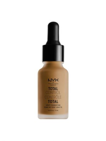 Тональные кремы NYX PROFESSIONAL MAKEUP Стойкая тональная основа TOTAL CONTROL DROP FOUNDATION - DEEP SABLE 18