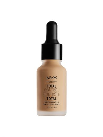 Тональные кремы NYX PROFESSIONAL MAKEUP Стойкая тональная основа TOTAL CONTROL DROP FOUNDATION - BUFF 10