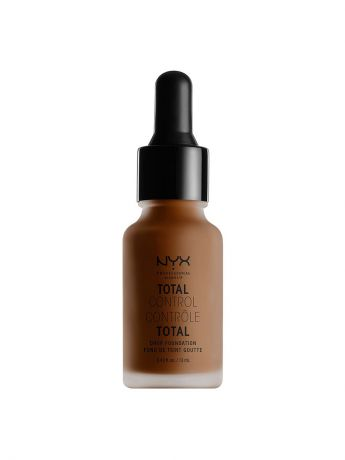 Тональные кремы NYX PROFESSIONAL MAKEUP Стойкая тональная основа TOTAL CONTROL DROP FOUNDATION - CHESTNUT 23