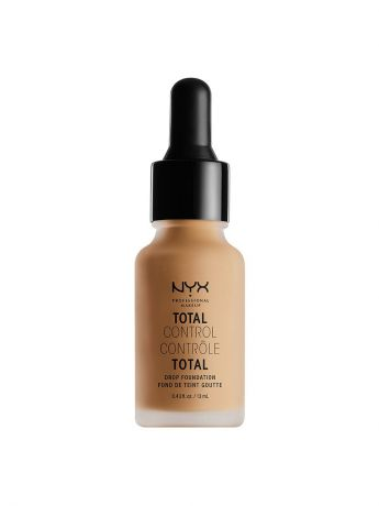 Тональные кремы NYX PROFESSIONAL MAKEUP Стойкая тональная основа TOTAL CONTROL DROP FOUNDATION - CLASSIC TAN 12