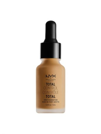 Тональные кремы NYX PROFESSIONAL MAKEUP Стойкая тональная основа TOTAL CONTROL DROP FOUNDATION - GOLDEN HONEY 14
