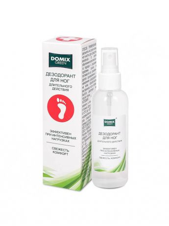 Дезодоранты DOMIX GREEN PROFESSIONAL Дезодорант для ног, 150 мл