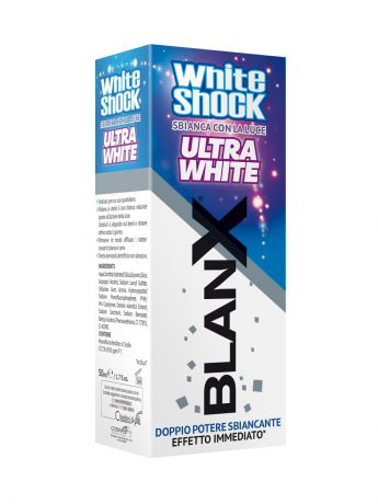Зубные пасты BLANX Зубная паста Бланкс Вайт Шок Ультра Вайт BlanX White Shock Ultra White