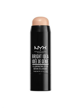 Хайлайтеры NYX PROFESSIONAL MAKEUP Стик иллюминатор. BRIGHT IDEA ILLUMINATING STICK - CHARDONNAY SHIMMER 05