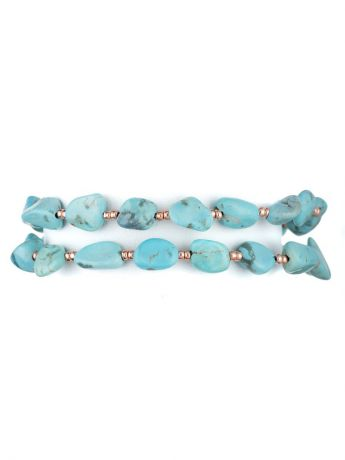 Браслеты La Mer Collections Браслеты La Mer Collections Natural Turquoise Bracelet