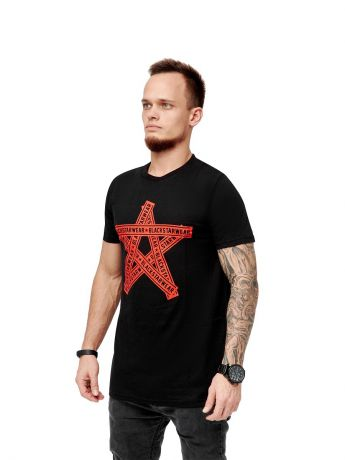 Футболка Black Star Wear Футболка мужская TAPES STAR