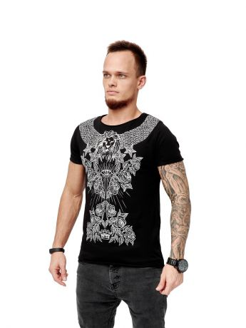 Футболка Black Star Wear Футболка мужская PATTERN BLACK STAR