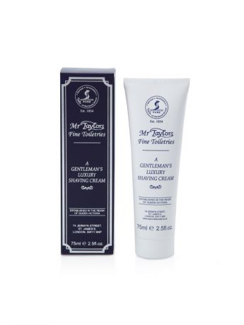 Кремы Taylor of Old Bond Street Крем для бритья Mr. Taylor Shaving Cream Tube 75мл