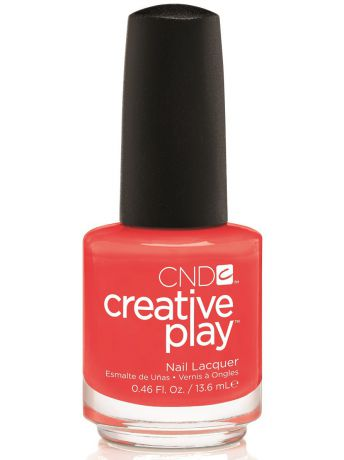 Лаки для ногтей CND Лак для ногтей CND 91623 Creative Play # 499 (Tangerine Rush) 13,6 мл