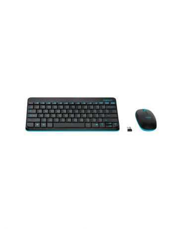 Клавиатуры Logitech Клавиатура Wireless Desktop MK240 Nano Retail Combo Black