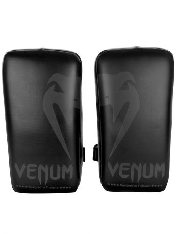 Лапы Venum Пэды Venum Giant Kick Pads Black/Black (пара)