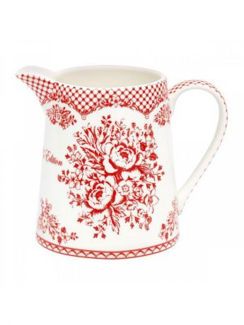 Кувшины Greengate Кувшин Stephanie red 0,5 11,5cm