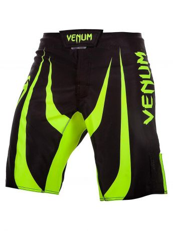 Шорты Venum Шорты ММА Venum Predator Black/Neo Yellow
