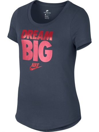 Футболка Nike Футболка G NSW TEE SCOOP DREAM BIG