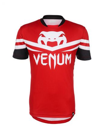 Футболка Venum Футболка Venum - Aldo UFC 163 Walk-Out Dry Fit - Red & Black