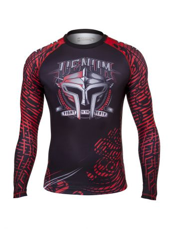 Рашгарды Venum Рашгард Venum Gladiator Black/Red L/S