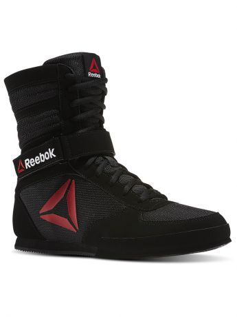 Кроссовки Reebok Обувь для бокса REEBOK BOXING BOOT- BLACK/WHITE