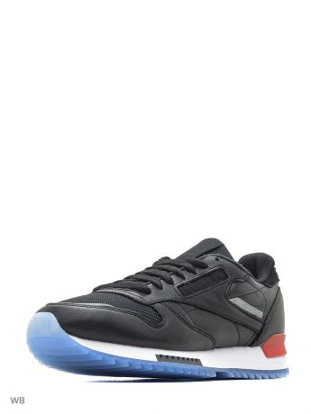 Кроссовки Reebok Кроссовки CL LEATHER RIPPLE L BLACK/WHITE/RED/DUST