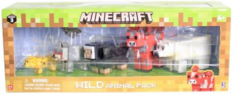 Набор фигурок Minecraft: Wild Animal Pack – Series 3