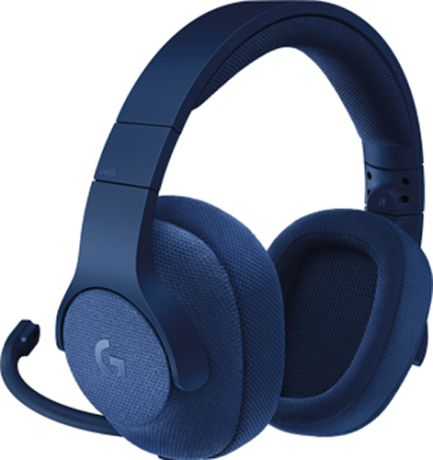 Гарнитура Logitech Headset G433 Gaming Retail проводная игровая Royal Blue для PC