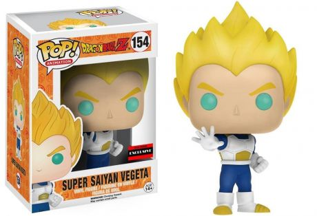 Фигурка Funko POP Animation Dragonball Z: Super Saiyan Vegeta Blue & White (9,5 см)