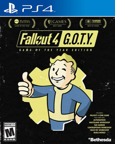 Fallout 4. Game of the Year Edition [PS4]