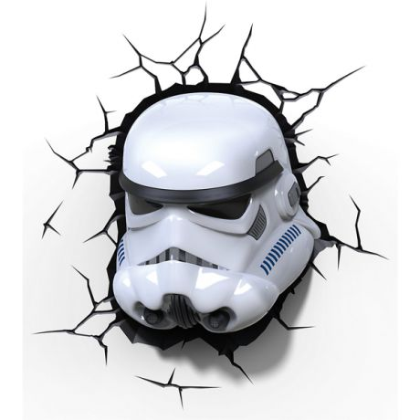 3D светильник Star Wars. Stormtrooper (Штормтрупер)