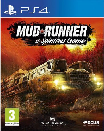 Spintires: MudRunner [PS4]