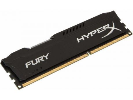 Оперативная память 4Gb PC3-10600 1333MHz DDR3 DIMM CL9 Kingston HX313C9FB/4 HyperX FURY Black Series