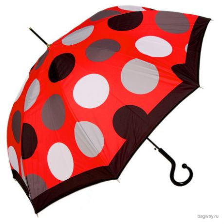 Зонт Moschino Umbrellas M 417 (M 417-61AUTOC Maxi Pois long Red)