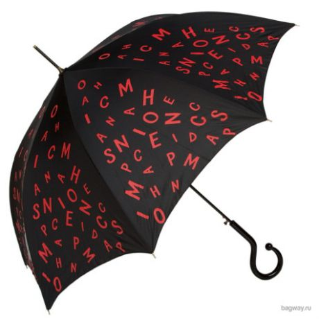Зонт Moschino Umbrellas M 273 (M 273-61AUTOA Olivia back forward Black)