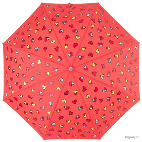 Зонт Moschino Umbrellas M 7065-OCI Coloured Hearts (M 7065-OCS Coloured Hearts Coral)